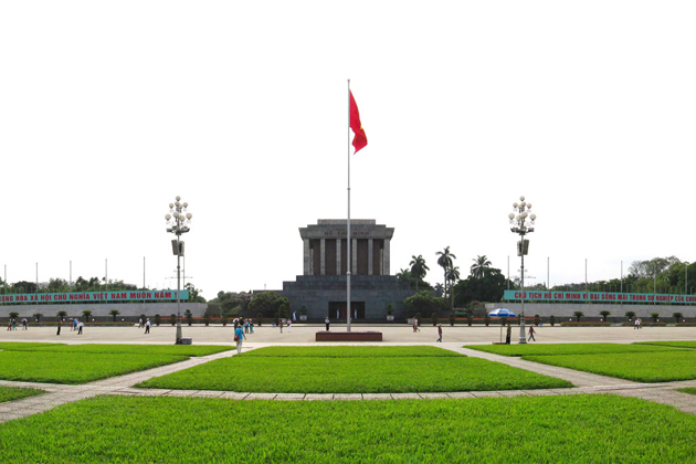 ba dinh square, Hanoi City Tours, Cozy Vietnam Travel, Vietnam Tours