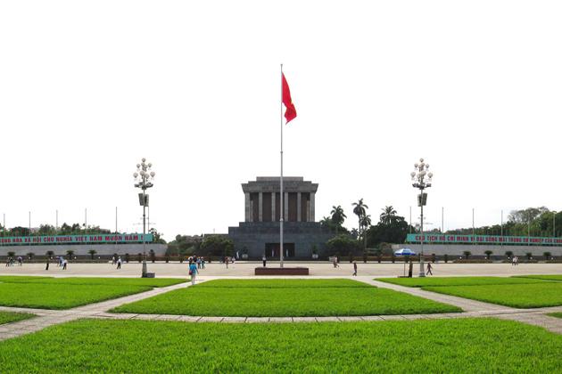 ba dinh square, Hanoi City Tours, Cozy Vietnam Travel, Vietnam Tours