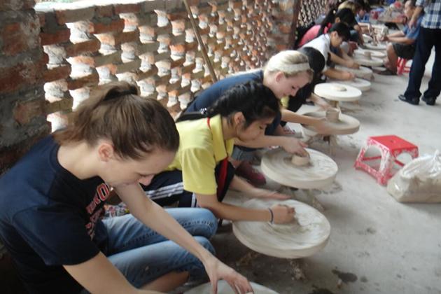 Bat Trang Ceramic village, Hanoi City Tours, Cozy Vietnam Tours