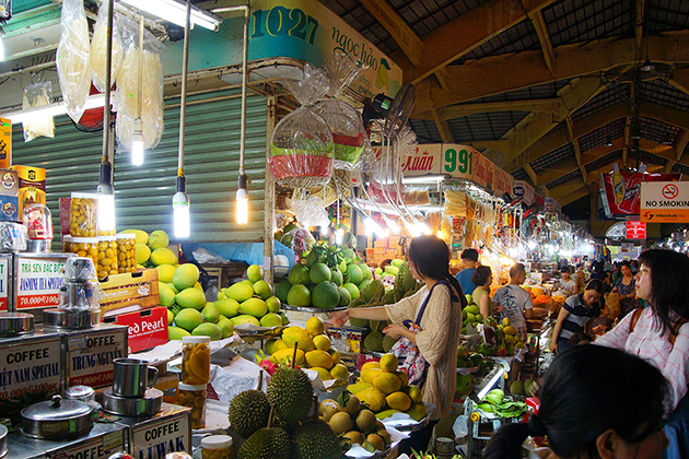 Ben Thanh market, Ho Chi Minh Tours, Cozy Vietnam Travel, Vietnam Tours
