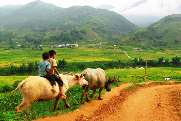 Ta Van Village in Sapa, Lao Cai, Tour, Sapa, Cozy Vietnam Travel