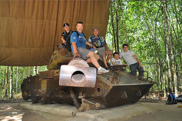 Cu Chi Tunnel, Tours Cu Chi, Cozy Vietnam Travel