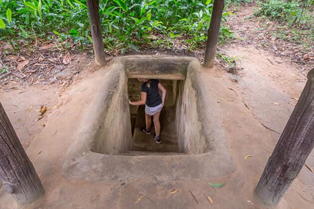 cu chi tunnels, Cozy Vietnam Travel