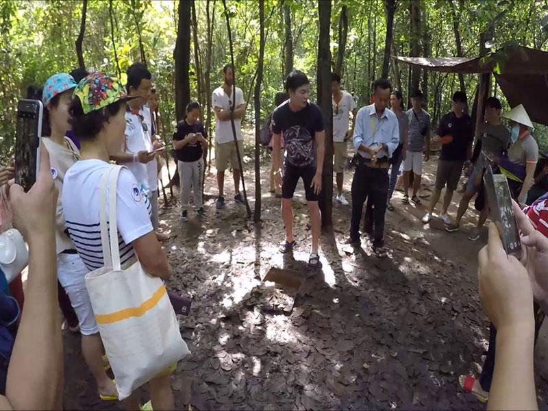 Cu Chi tunnel, Cozy Vietnam Travel