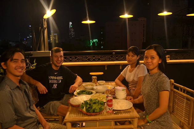 Dinner in Local House, Ho Chi Minh City Tours, Cozy Vietnam Travel