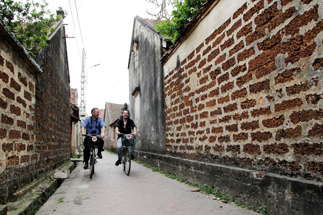 Dong Ngac Cultural Village, Hanoi Tours, Cozy Vietnam Travel, Vietnam Tours with Bike