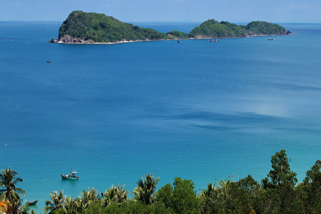 Area Swimming in Nam Du Island, Kien Giang, Travel, Cozy Vietnam Travel