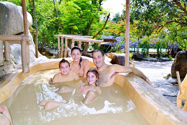 Family Mud Spa Tours, Nha Trang Tours, Cozy Vietnam Travel