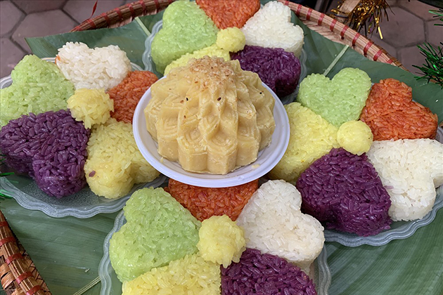 Five Color Sticky Rice, Hagiang, Tour, Vietnam, Cozy, Travel