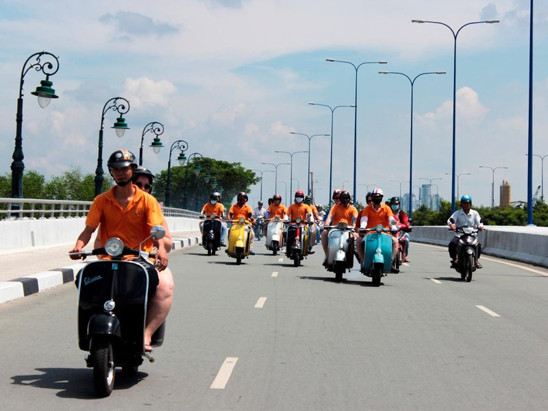 Vespa Tour,Hochiminh City Tours,Cozy vietnam Travel