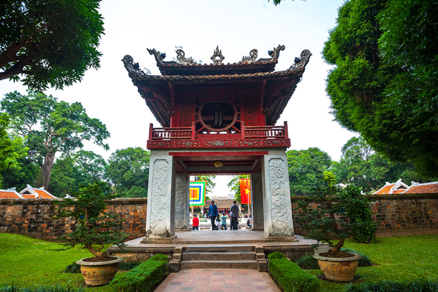 Khue Van Pavilion, Hanoi City Tours, Cozy Vietanam Travel
