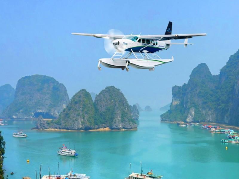 Hanoi-Halong By Haiau Seaplane,Halong Bay Tous,Cozy Vietnam Tous