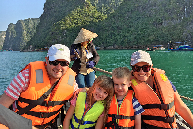 Halong Bay Family Tours, Halong Bay Overnight Cruise, Cozy Vietnam Travel