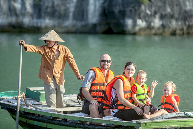 Halong Bay Tours, Bamboo Boat Trip, Luon Cave, Cozy Vietnam Travel