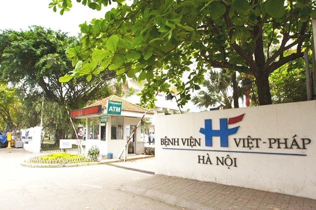 Hanoi French Hospital in Hanoi, Hospital, Hanoi, Cozy Vietnam Travel