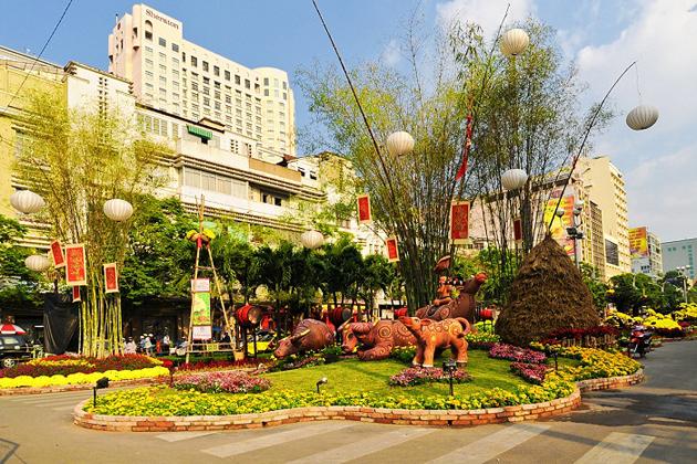 Tet Holiday in Ho Chi Minh, Vietnam Travel, Cozy Vietnam Travel