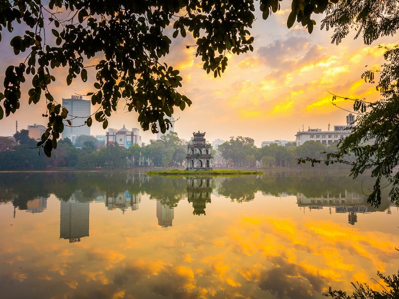 Hoan Kiem Lake Hanoi, Hanoi City Tours, Cozy Vietnam Travel,Vietnam Tours