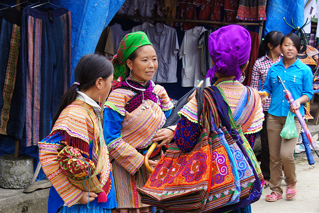 Hoang Su Phi Sunday Market, Hagiang, Tour, Vietnam, Cozy Travel