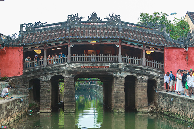 Japanese Covered Bridge in Hoi An, Cozy Vietnam Travel, Vietnam Torus