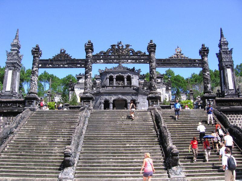 King Khai Dinh's Tomb, Hue Tours, Hue City, Cozy Vietnam Tours