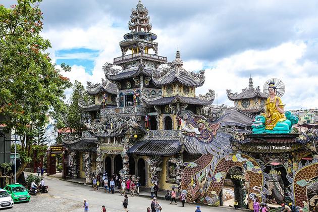 Linh Phuoc Pagoda, Da Lat City Tours, Da Lat Travel, Cozy Vietnam Travel