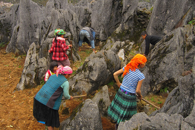 Local People, Dong Van, Ha Giang, Cozy Vietnam Travel