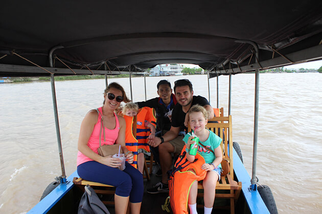 Cai Be Floating Market, Cozy Vietnam Travel, Vietnam Package Tours