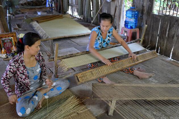 mekong delta local workshop, Mekong Delta Tours, Cozy Vietnam Travel