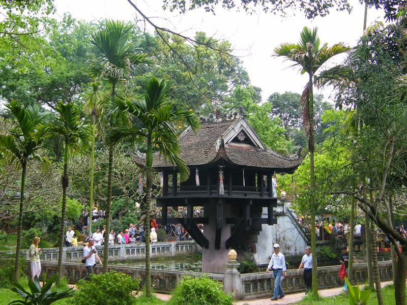 One Pillar Pagoda, Hanoi City Tours, Cozy Vietnam Travel