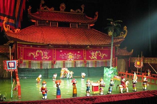 Water Puppet Performance, Hanoi City Tours, Cozy Vietnam Travel