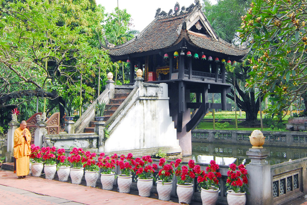 One Pillar Pagoda, Hanoi City Tours, Cozy Package Tours, Vietnam Travel