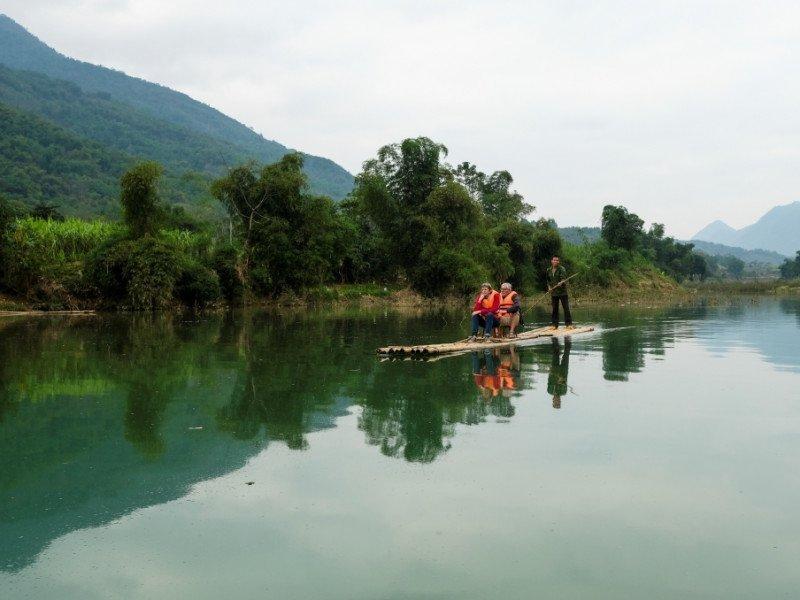 Cham River Pu Luong Vietnam, Pu Luong Tours, Cozy Vietnam Tours, Vietnam Package Tours