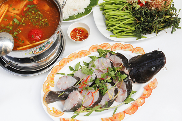 River Fish Hotpot in Cat Tien, An Giang, Tours, An Giang, Cozy Vietnam Travel