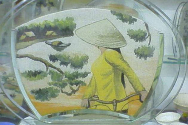 Sand Paintings in Vietnam, Sand Paintings, Cozy Vietnam Travel