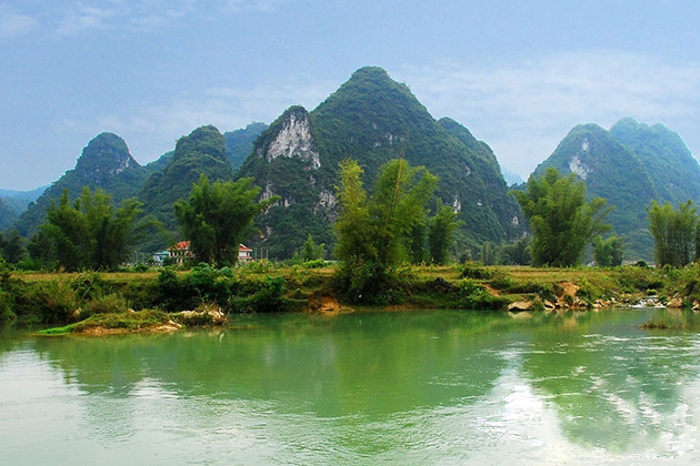Scenic View near Nguom Ngao Cave in Cao Bang, Tours, Cao Bang, Cozy Vietnam Travel