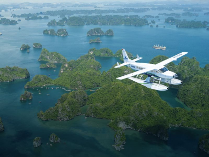 Haiau Seaplane Hanoi to Halong Bay,Cozy Vietnam Travel,Cozy Tours