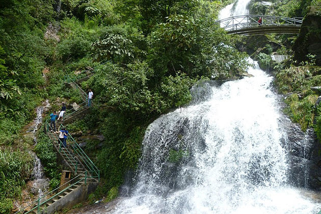 Silver waterfall, Sapa Tour, Cozy Vietnam Travel