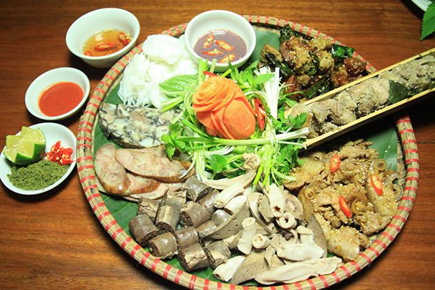 Tam Dao Dishes From Port, Vinh Phuc, Tour, Cozy Vietnam Travel