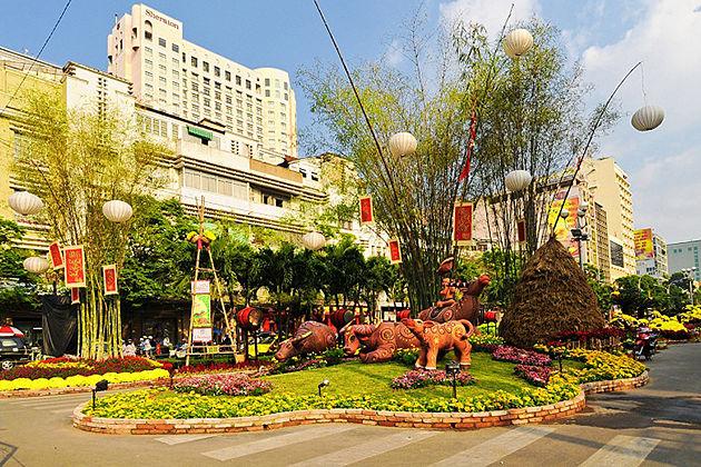 Tet Holiday In Sai Gon, Sai Gon, Tour, Cozy Vietnam Travel