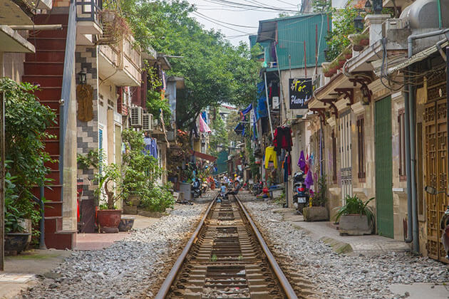 Hanoi Strain Street, Hanoi Old Quarter, Vietnam Cozy Tours
