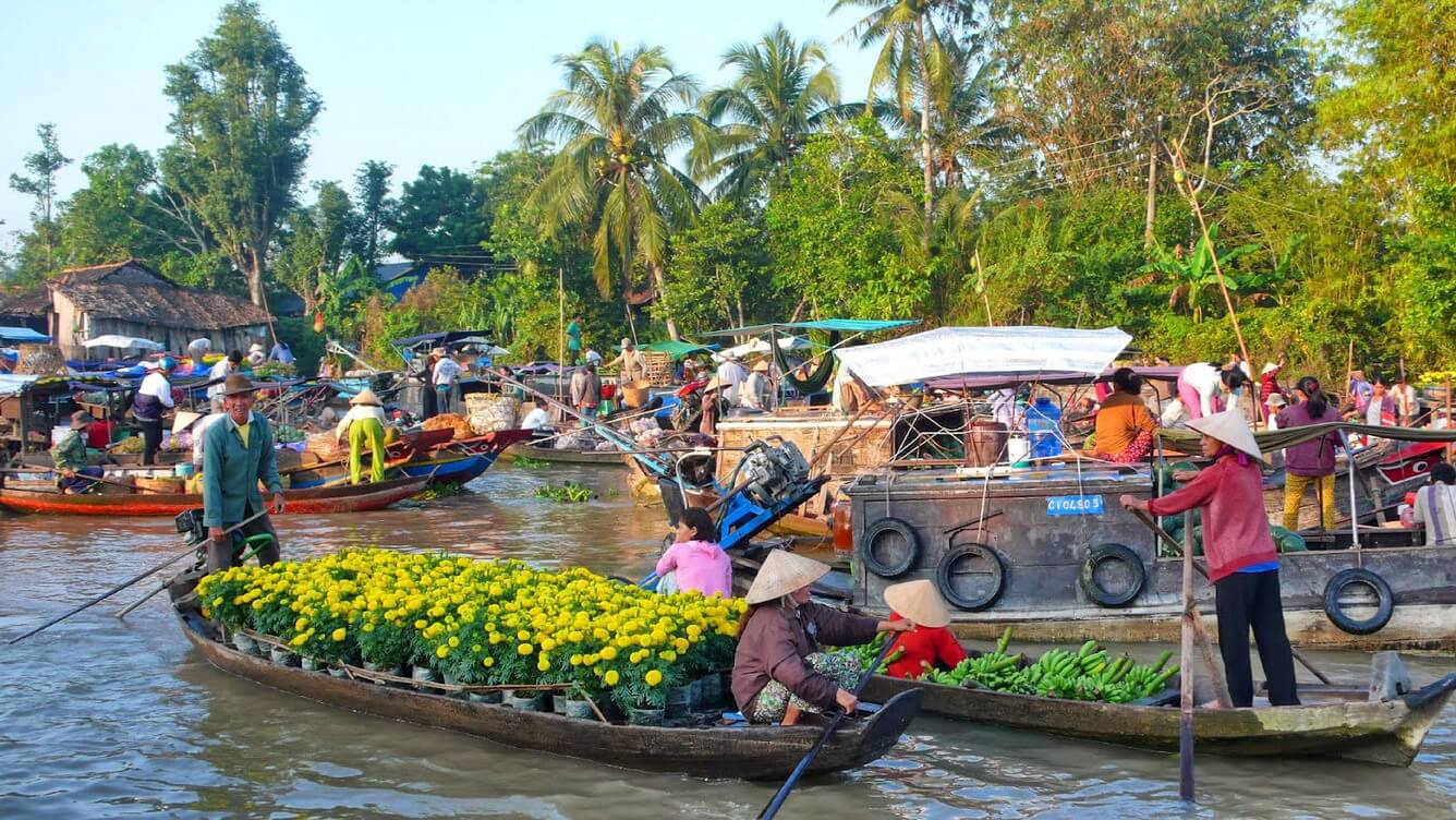 Mekong Delta Cycling Tour – 3 Days