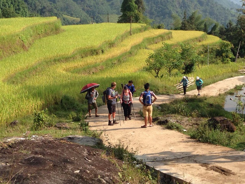 Walking,Trekking Tour in Pu Luong Vietnam,Cozy Travel,Vietnam Travel