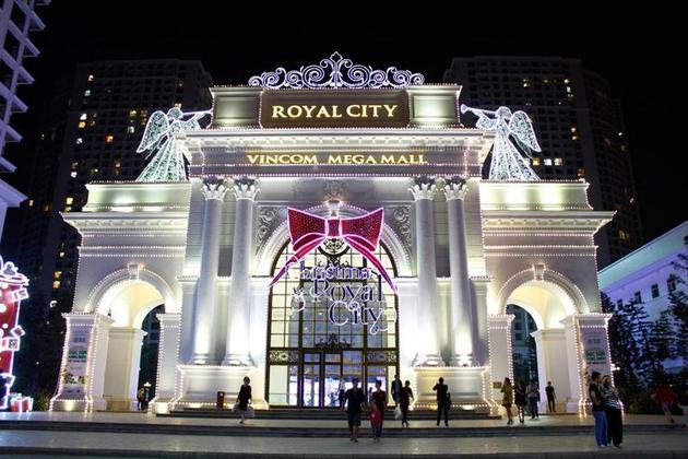 Vincom Mega Mall Royal City in Hanoi, Cozy Vietnam Travel