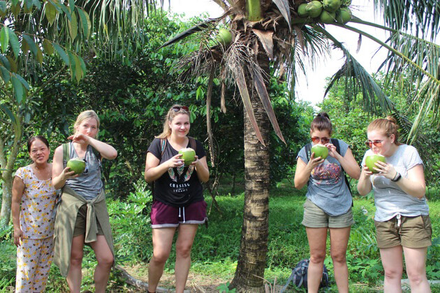 Local Village in Cai Be, Mekong Delta Travel, Cozy Vietnam Package Tours
