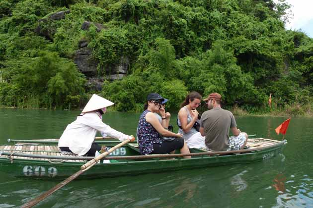 Trang An Boat Trip in Ninh Binh, Cozy Vietnam Travel