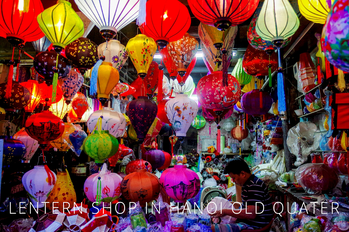 Hanoi Old Quarter LANTERN SHOP