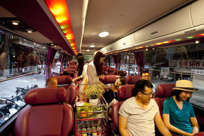 Bus From Hanoi to Sapa, Cozy Vietnam Travel