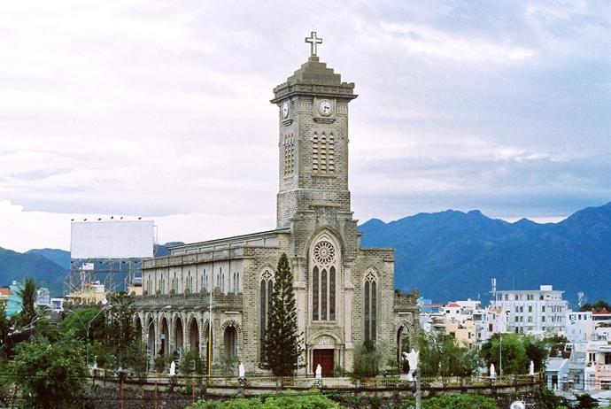 Nha Trang Cathedral, Cozy Vietnam Travel