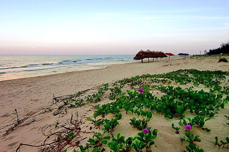 Nhat Le Beach, Cozy Vietnam Travel