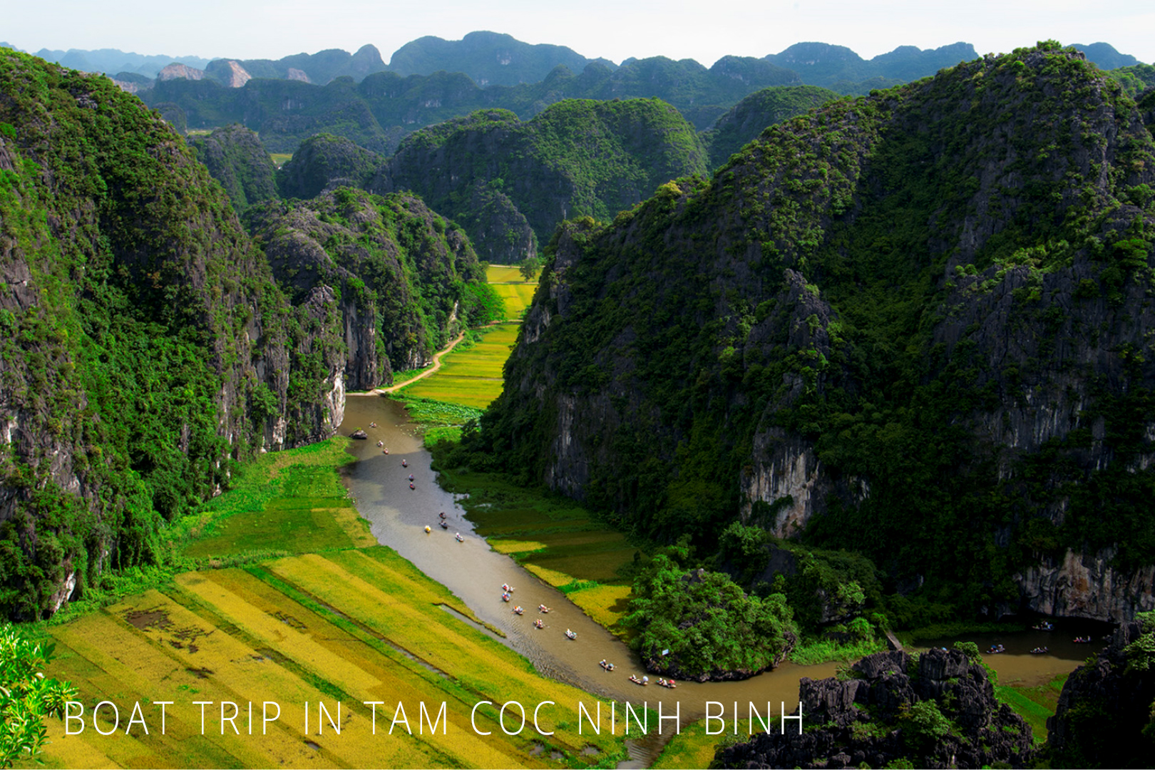 Trang An Boat Trip Vietnam, tam coc boat ride